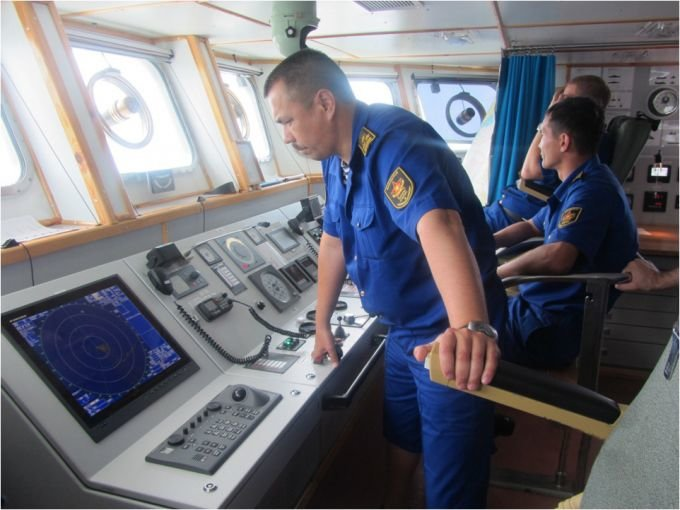 Боевые корабли ВМС Казахстана развернули стрельбы на Каспии, фото-3