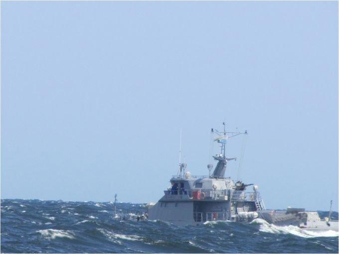 Боевые корабли ВМС Казахстана развернули стрельбы на Каспии, фото-2