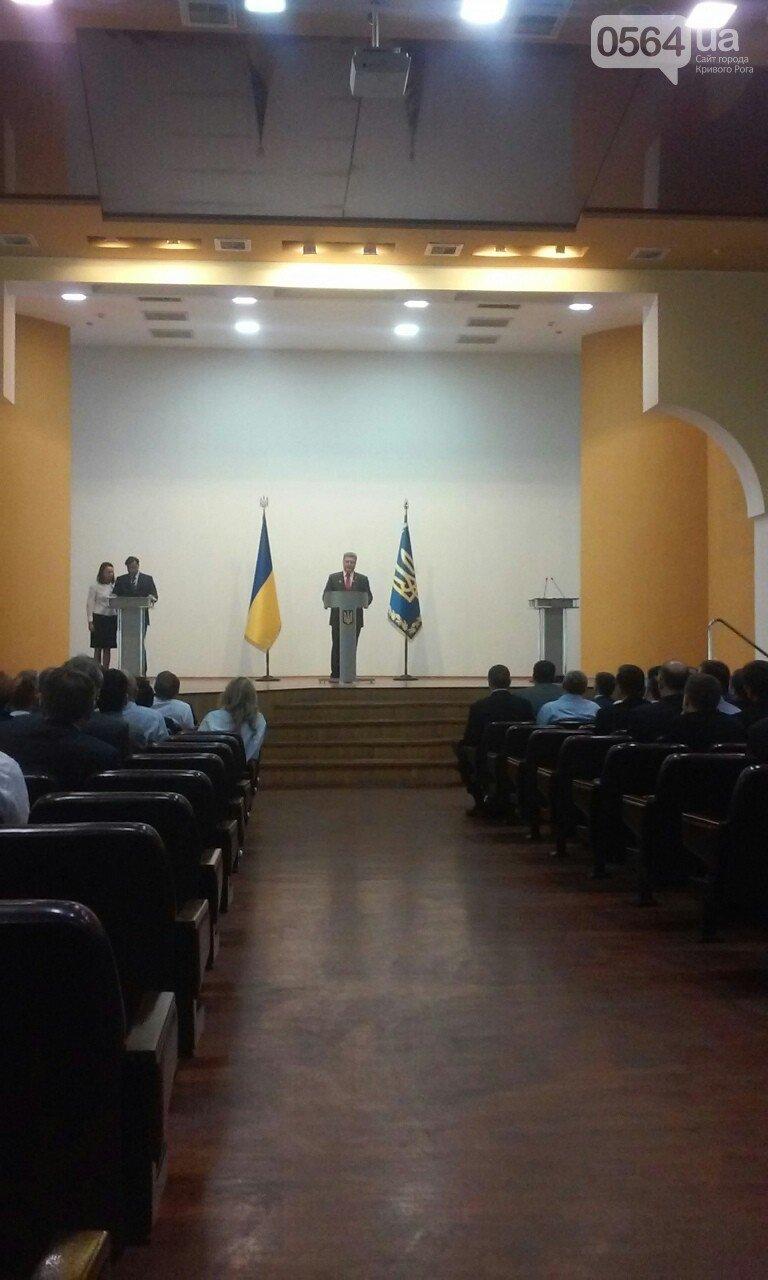 Петр Порошенко прибыл в Днепропетровскую область (фото) - фото 2