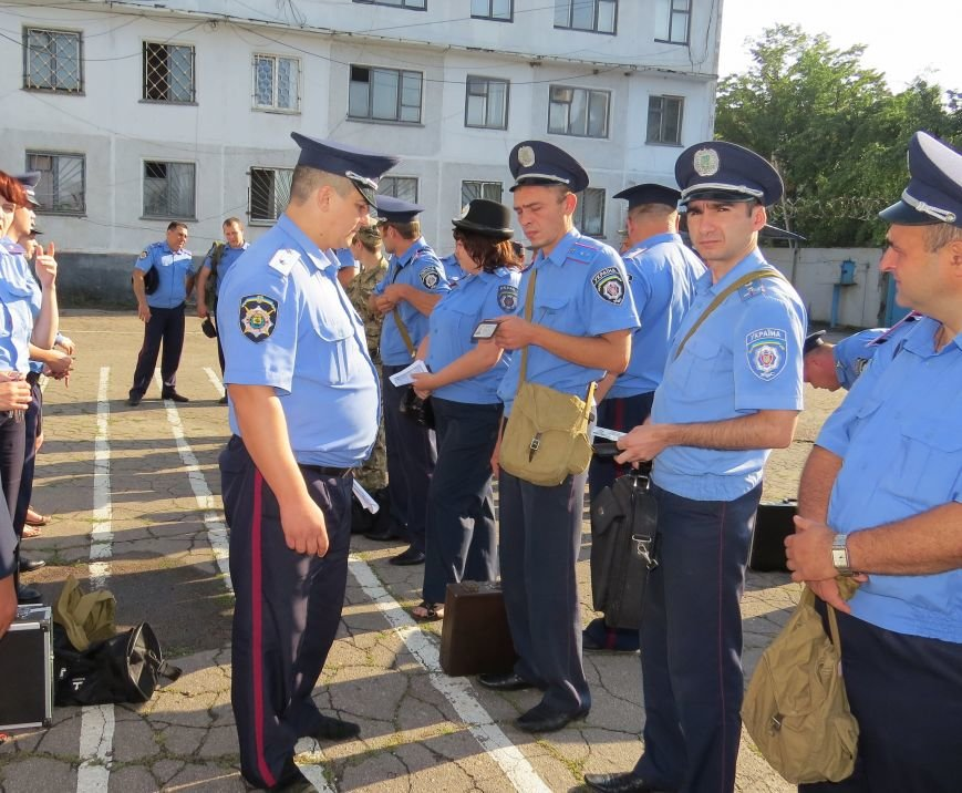 Руководство Красноармейского ГО милиции провело отработку учебной тревоги, фото-1