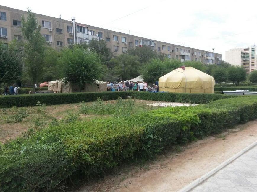 Национальные традиции в Парке победы в Актау (фото) - фото 3
