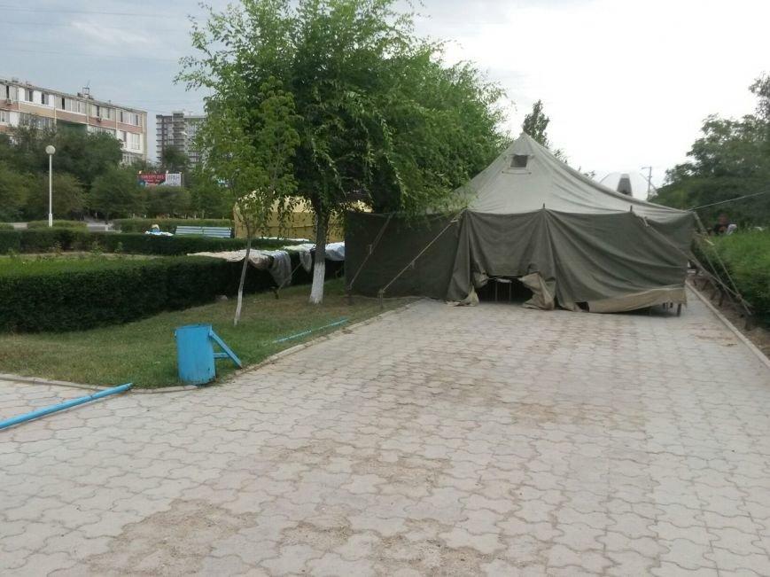 Национальные традиции в Парке победы в Актау (фото) - фото 4