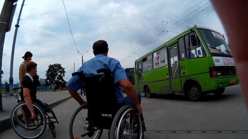 В Харькове ловят на живца водителей маршруток, которые игнорируют инвалидов (ФОТО) (фото) - фото 1