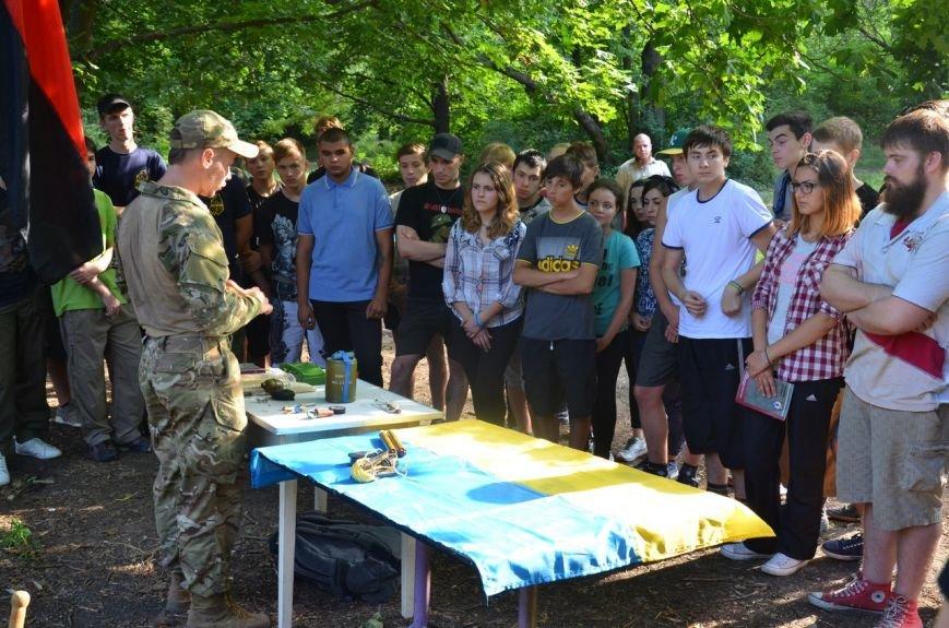 «Азов» учил мариупольцев саперному делу (ФОТО) (фото) - фото 1