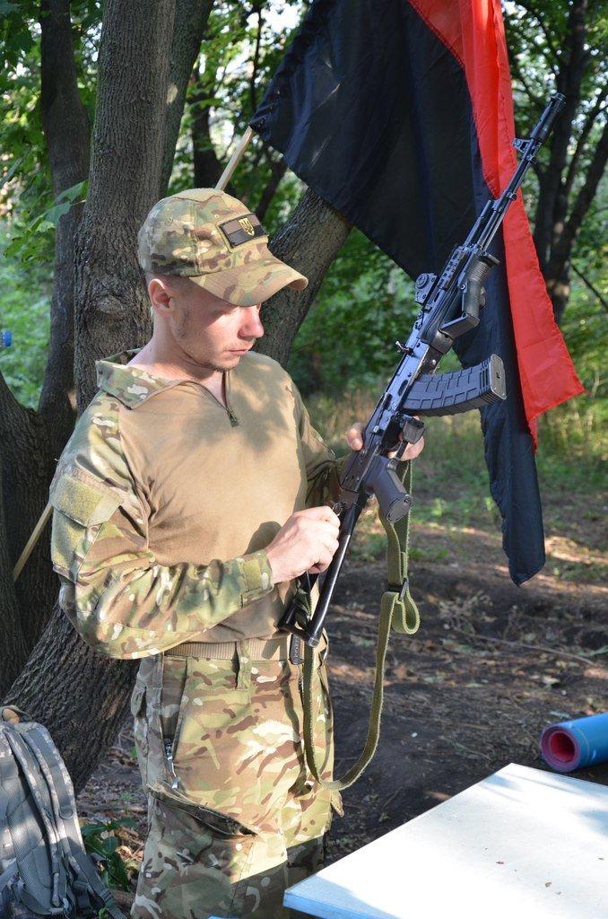 «Азов» учил мариупольцев саперному делу (ФОТО), фото-2