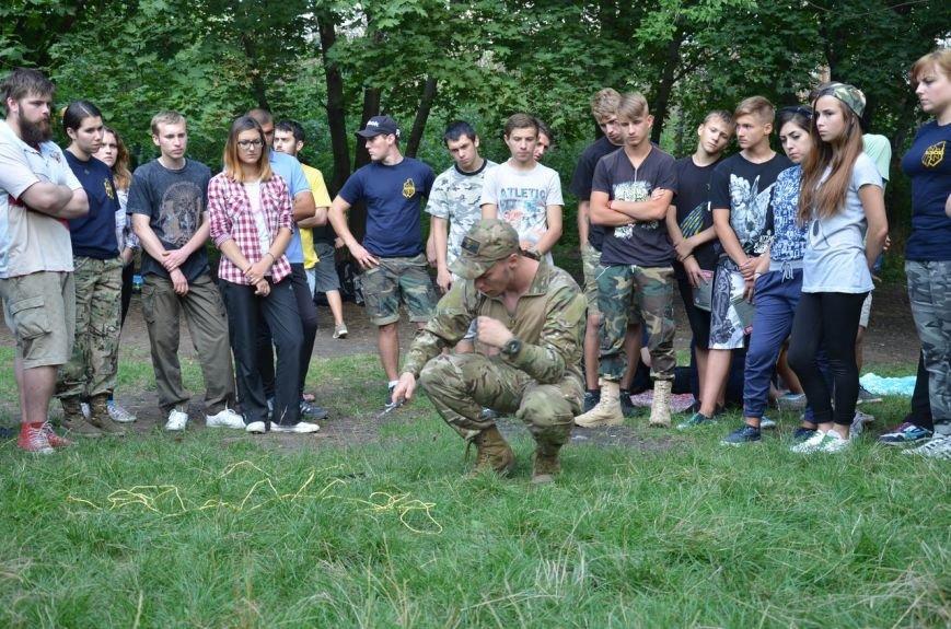 «Азов» учил мариупольцев саперному делу (ФОТО), фото-1