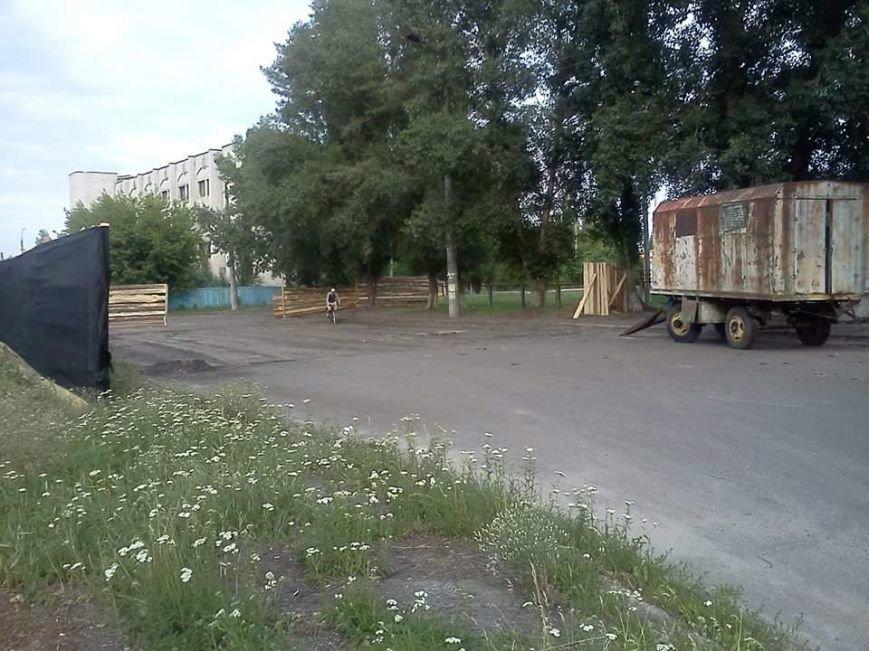 Черкащани не згодні з будівництвом СТО на Митниці (ФОТО), фото-1