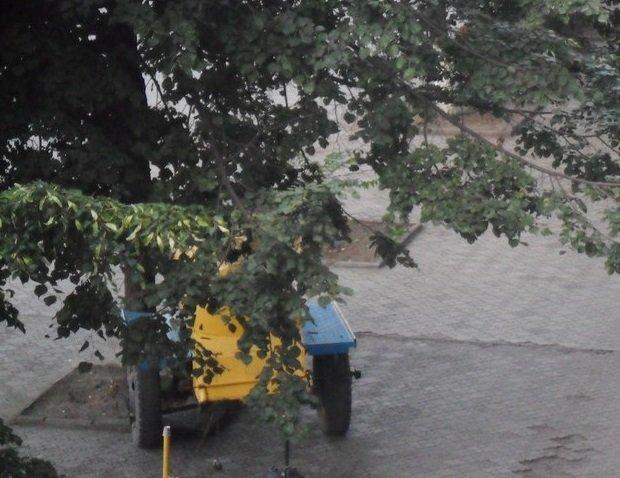 В Кривбассе по ночам вандалы жгут лавочки на Советской  площади под горисполкомом и крушат благоустроенные парки (ФОТО), фото-3
