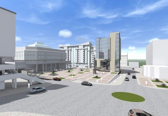 Як виглядатиме в Тернополі площа Героїв Євромайдану (фото) (фото) - фото 1