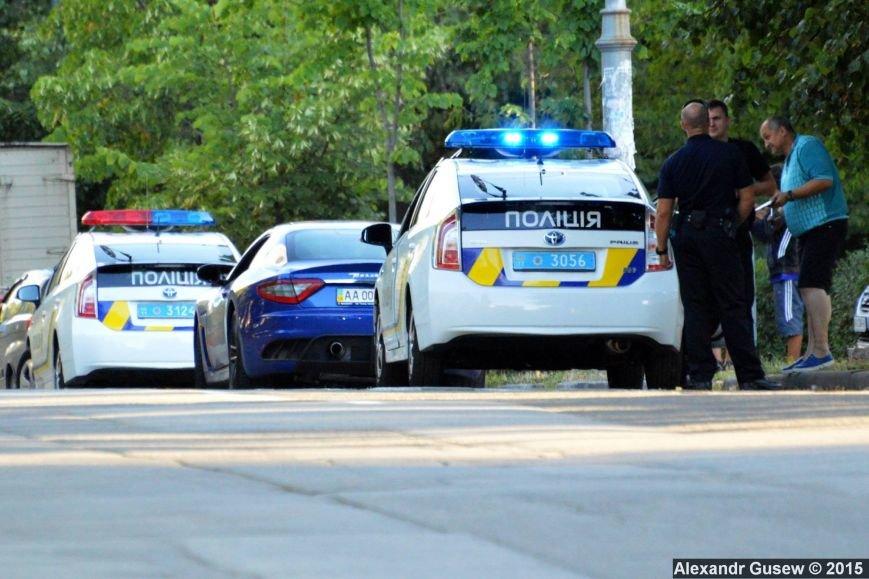 В Киеве полицейские задержали лихача на Maserati (ФОТО) (фото) - фото 1