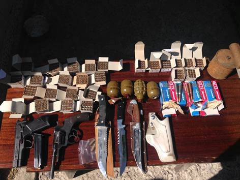 Под Киевом СБУ изъяла арсенал оружия из АТО (ФОТО) (фото) - фото 1
