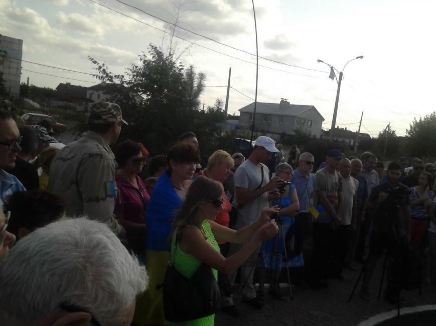 Мариупольцы протестовали против демилитаризации Широкино (ФОТО), фото-4