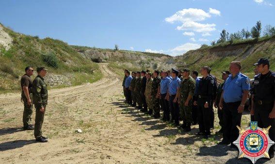 Красноармейские правоохранители отработали на полигоне навыки огневой подготовки (ФОТО) (фото) - фото 1