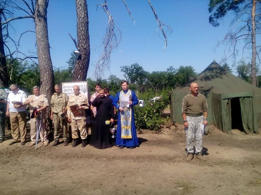 Бойцов запорожского батальона посвятили в казаки (ФОТО) (фото) - фото 2
