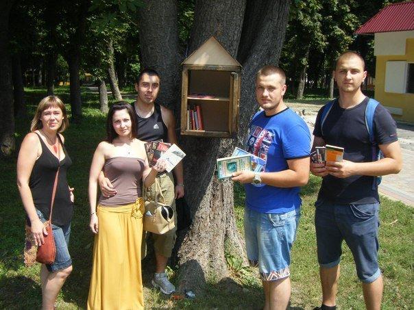 Вулична бібліотека з'явилася і в Лубнах (фото) - фото 1