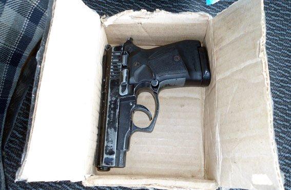 На Полтавщине задержан автомобиль с оружием и боеприпасами (ФОТО) (фото) - фото 1