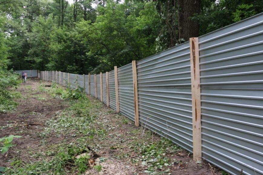 На Кордовке уничтожили 78 деревьев и поставили забор, фото-7