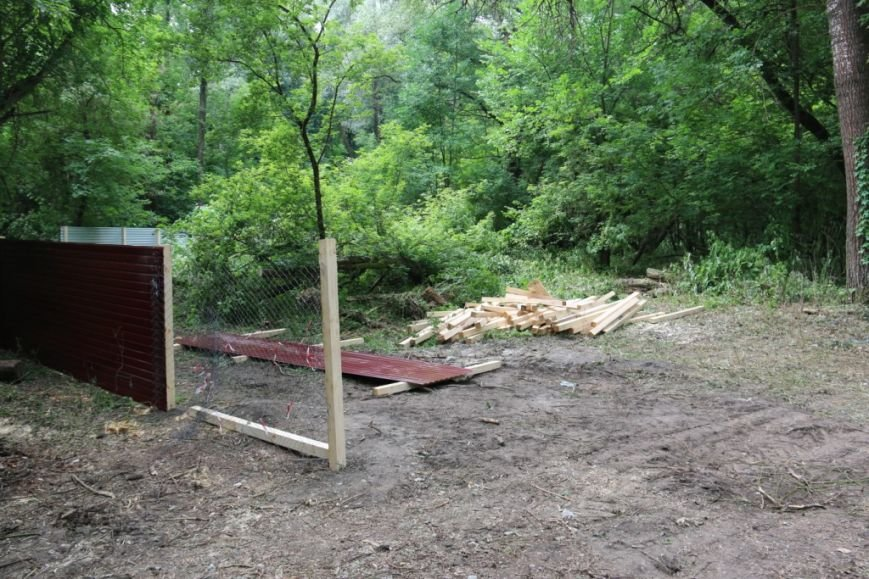 На Кордовке уничтожили 78 деревьев и поставили забор, фото-3