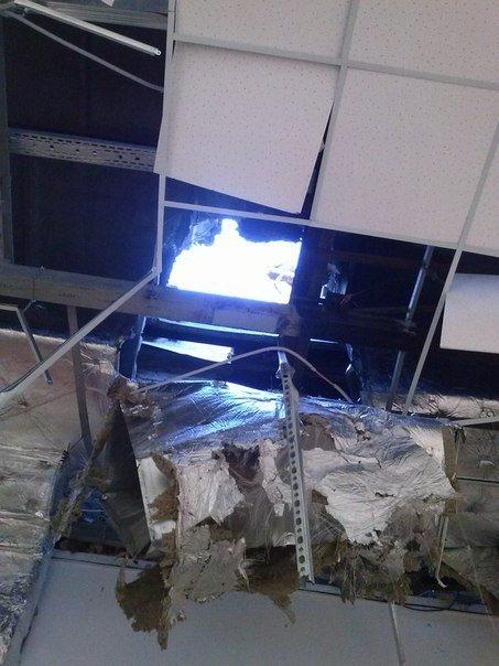 Фотофакт. «Амстор» на ул.Университетская в Донецке после обстрела (фото) - фото 4