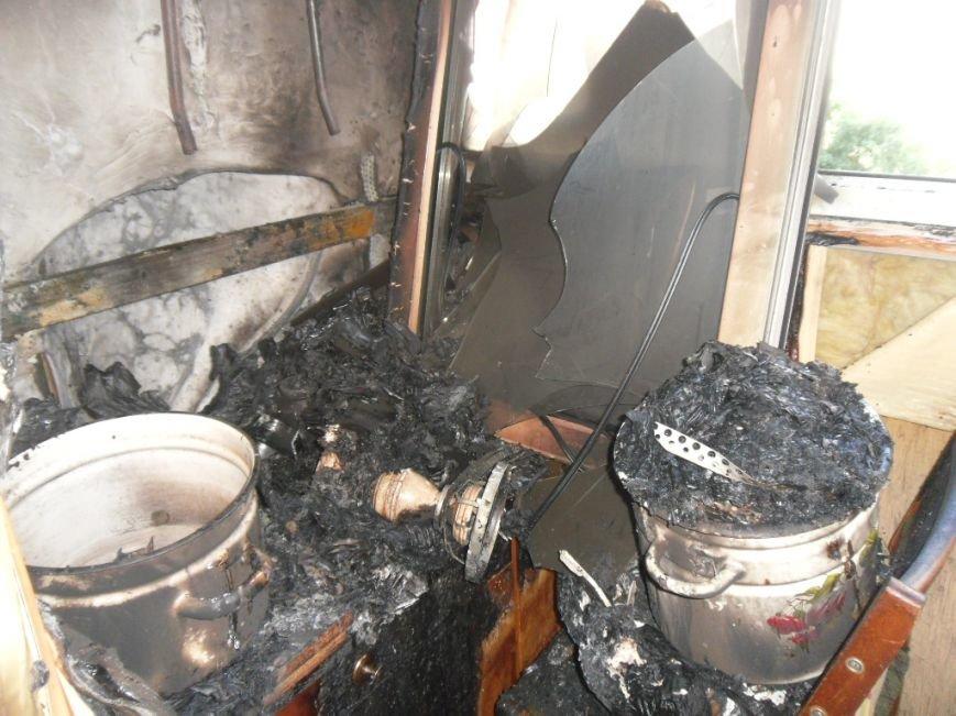 В Днепродзержинске на бульваре Героев тушили пожар, фото-1