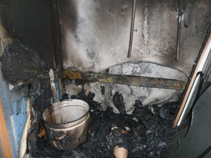 В Днепродзержинске на бульваре Героев тушили пожар, фото-4
