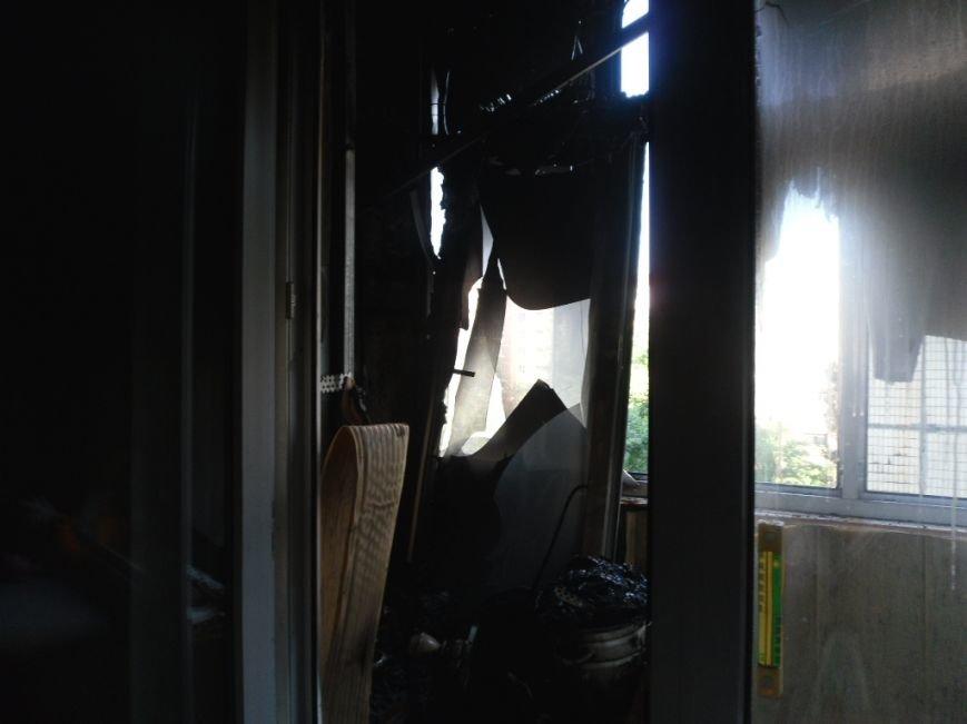 В Днепродзержинске на бульваре Героев тушили пожар, фото-2