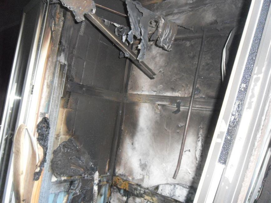 В Днепродзержинске на бульваре Героев тушили пожар, фото-3