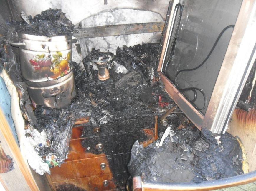 В Днепродзержинске на бульваре Героев тушили пожар, фото-6