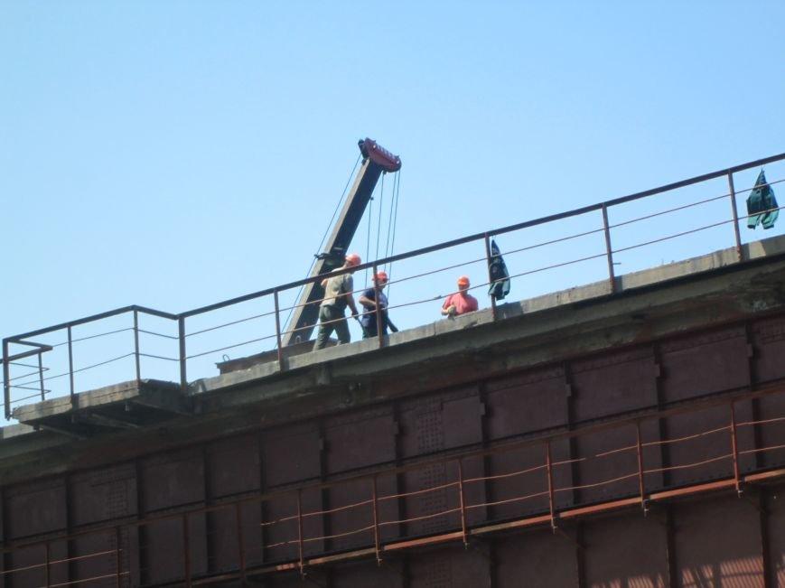 Железнодорожный мост через Кальчик восстановят за 3 месяца (ФОТО+ВИДЕО), фото-9