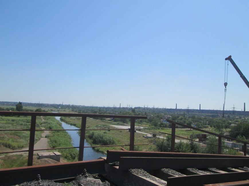 Железнодорожный мост через Кальчик восстановят за 3 месяца (ФОТО+ВИДЕО), фото-4