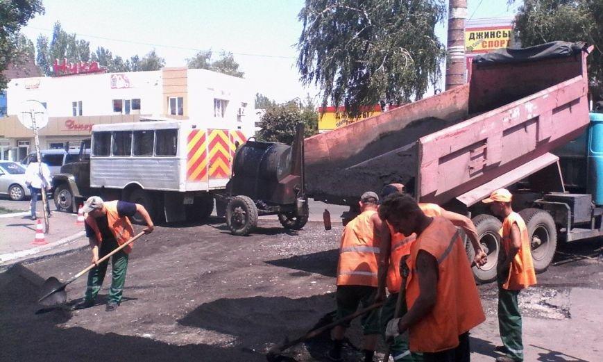 Возобновился плановый ремонт дорог в Красноармейске (ФОТО) (фото) - фото 2