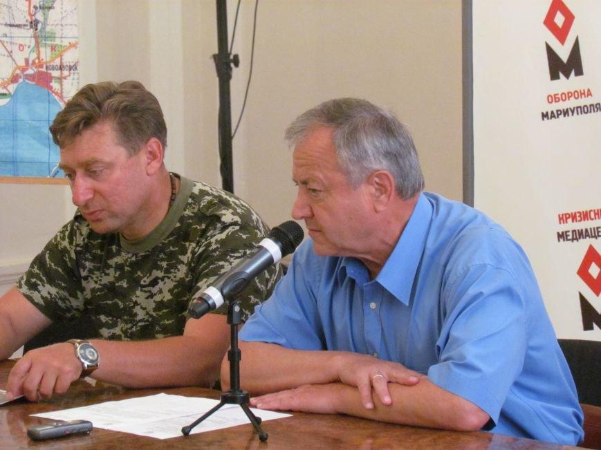 Юрий Хотлубей предложил откупаться от воров мариупольских люков, фото-1