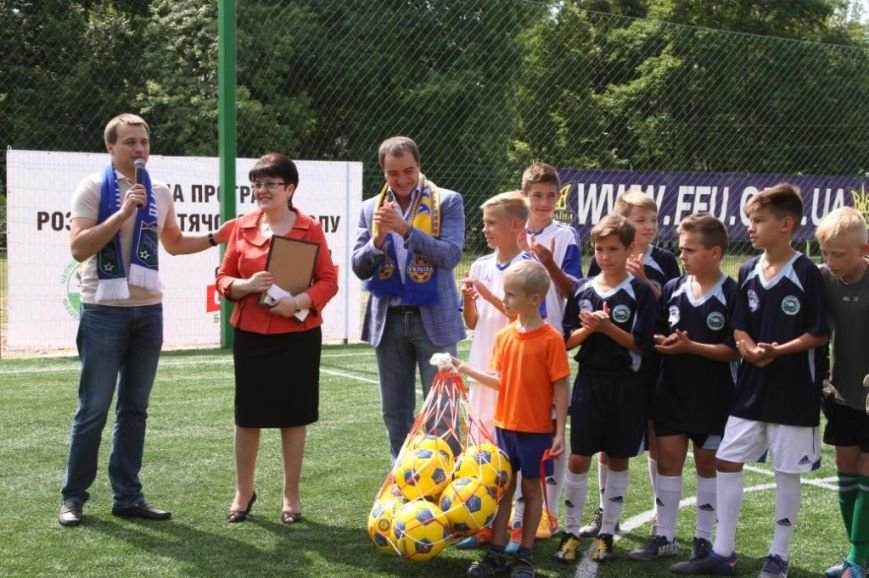 Сергей Березенко открыл в Чернигове новое футбольное поле, на котором определилось имя лучшей дворовой команды города, фото-5