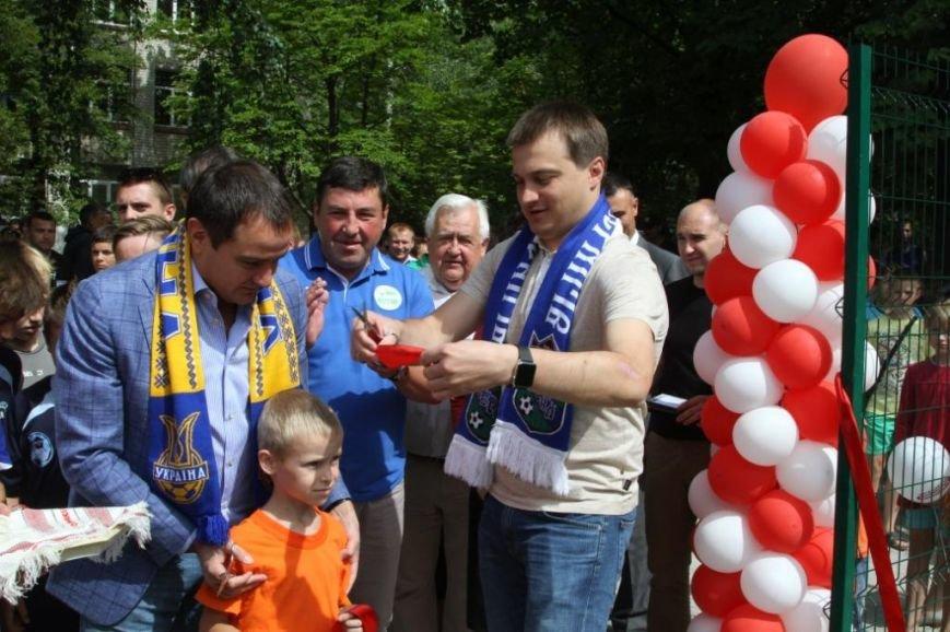 Сергей Березенко открыл в Чернигове новое футбольное поле, на котором определилось имя лучшей дворовой команды города, фото-3