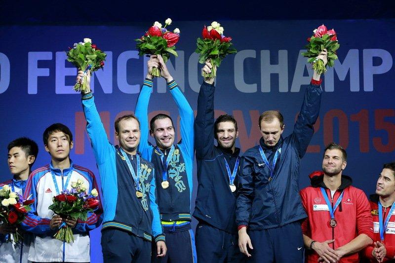 Днепропетровский спортсмен - чемпион мира по фехтованию на шпагах (фото) - фото 1