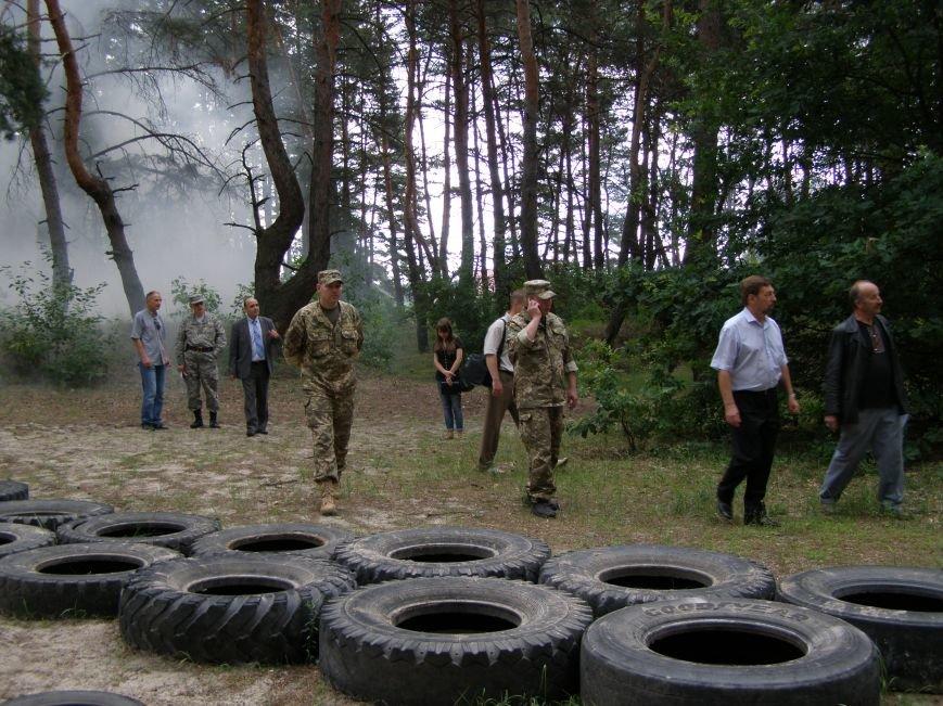 Київські та полтавські освітяни перевірили підготовку до військово-патріотичної спортивної гри «Джура» (фото) - фото 4