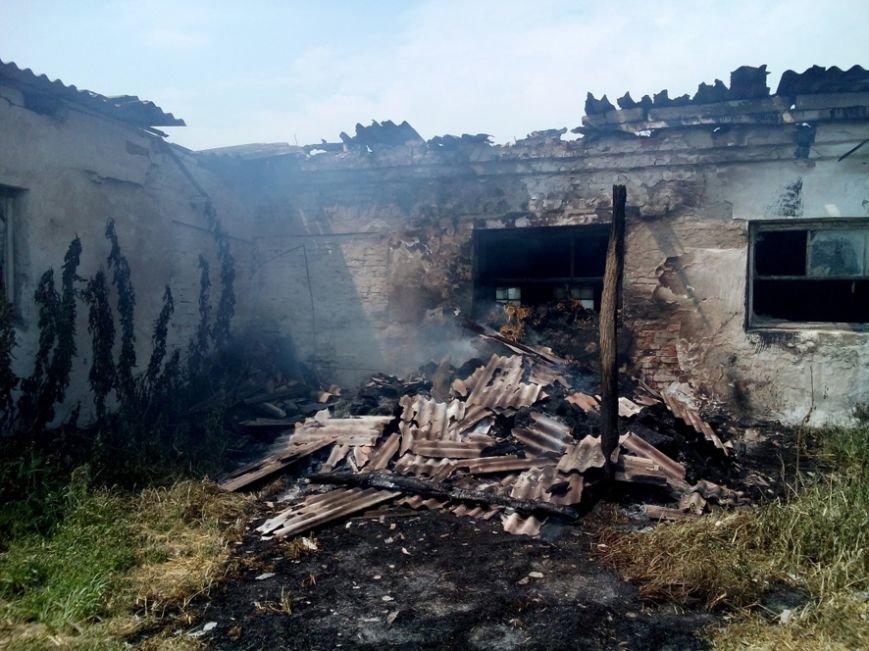 На Полтавщині горіла ферма. Фото (фото) - фото 1