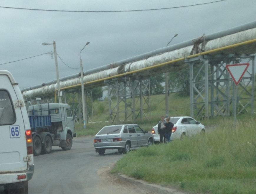 Авария в Промзоне (Заволжье) (фото) - фото 1