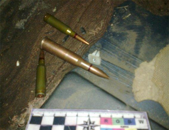 У жителя області вилучено набої та предмет, схожий на використаний ручний гранатомет. ФОТО (фото) - фото 1