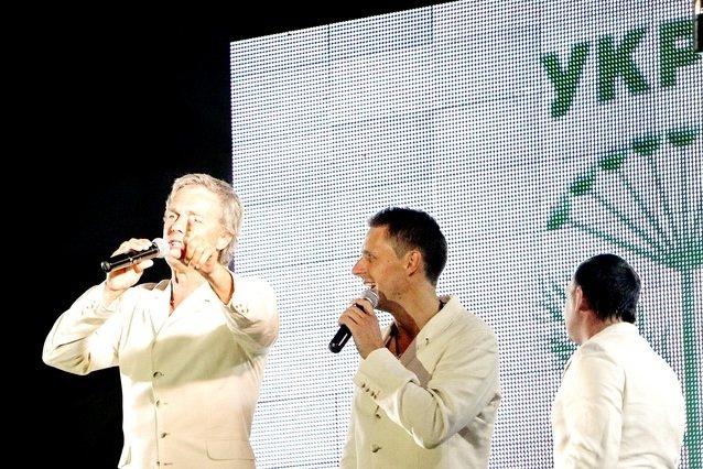 Концерт кращих в Україні виконавців авторської пісні та поп-класики тріо «S-Klass» пройшов за підтримки Геннадія Корбана, фото-18
