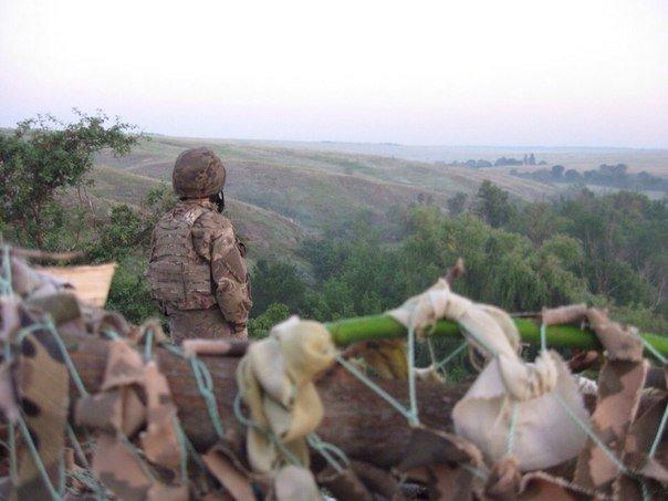 Харьковские бойцы остановили сепаратистов, которые пытались прорваться через «линию» фронта (ФОТО) (фото) - фото 1