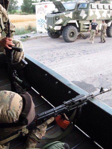 Харьковские бойцы остановили сепаратистов, которые пытались прорваться через «линию» фронта (ФОТО) (фото) - фото 3