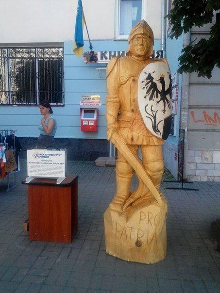 Франківський лицар «приймає» допомогу для бійців АТО (ФОТО) (фото) - фото 1