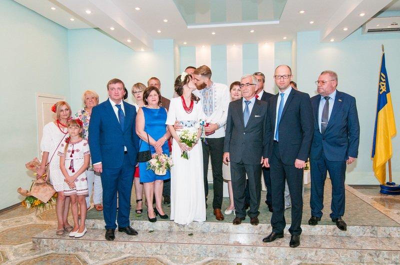 На Днепропетровщине первая в Украине пара поженилась онлайн (фото) - фото 6