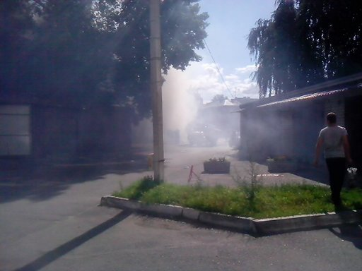 В центре Харькова горел дом, в котором собирались бомжи (ФОТО) (фото) - фото 1