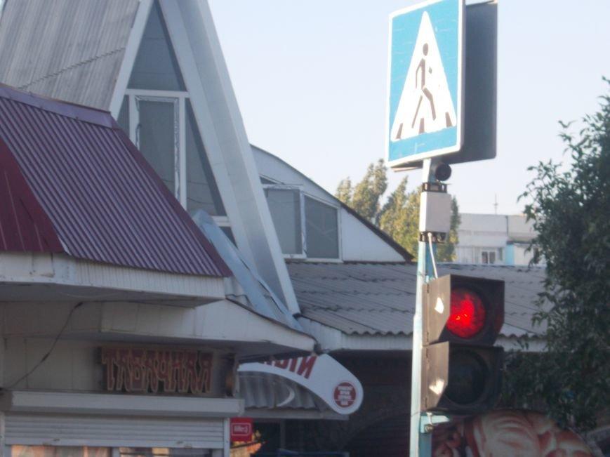 В Бердянске продолжают устанавливать звуковые устройства на светофорах (фото) - фото 3
