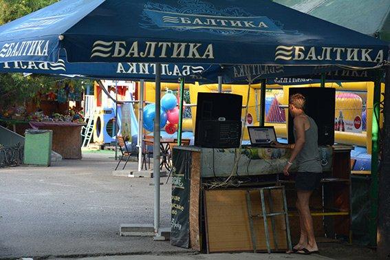 В николаевском парке провели рейд по выявлению нарушений правил торговли (ФОТО) (фото) - фото 1