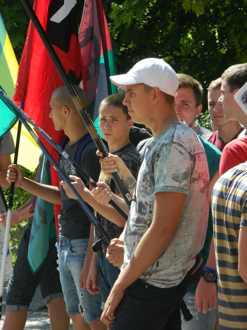 «Сила нации» вывела под запорожскую прокуратуру школьников и ПТУшников (ФОТО, ВИДЕО) (фото) - фото 4
