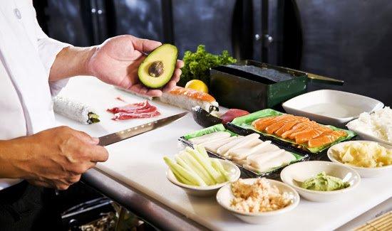 Мастер-классы по приготовлению суши (фото) - фото 1