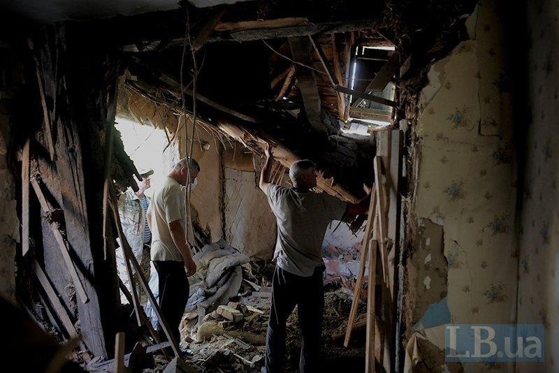 Авдеевка после массированных обстрелов в прошлые выходные (ФОТОФАКТ) (фото) - фото 1